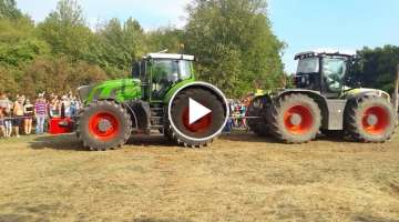 Fendt 939 vs Xerion 3800