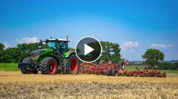 HORSCH AgroVation- Podmítání 2020- Fendt 1050 Vario & Horsch Cruiser 12 XL