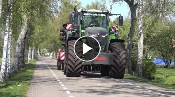 FENDT 1050 HORSCH OP TRANSPORT