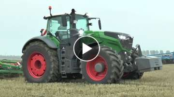 Fendt 1050 Vario + 926 Vario MK II with Amazone Cenius TX and Lemken Smaragd