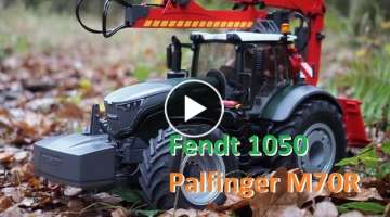 RC TRUCK TIMBER Tractor Fendt 1050 + Palfinger X140F