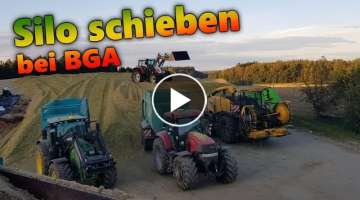 SLIDE silo at BGA | Let's dirve Steyr with Stoll front loaders