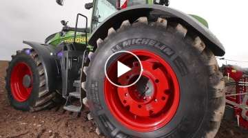 MICHELIN AXIOBIB - Testimonial - Choosing tyres over tracks for high horsepower Fendt 1050 (EN)
