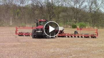 No-Till Corn Planting with Big Case IH Farm Machines