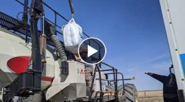 Bourgault XTC 84ft - Day 5: Moving, Loading, & Ashtyn