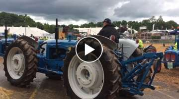 Devon county Classic tractor run 2017 | ford jubilee,massy,fordson and more