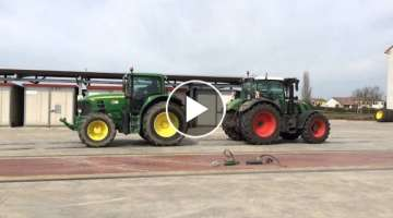 Fendt 724 vs John deere 7430