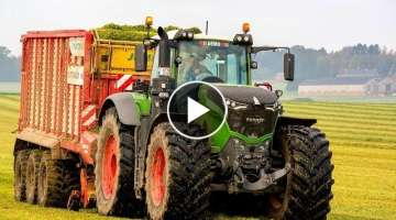 Silage 2017 | FENDT 1050 AT WORK | Pöttinger Jumbo 7210
