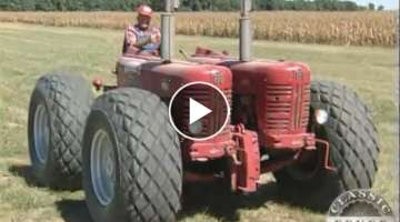 International Harvester 400 Diesel Twin Engine Garrett Tractor - Classic Tractor Fever