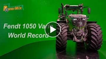 New Fendt 1050 Vario World Record of Fuel Consumption in the DLG PowerMix Test | TractorLab