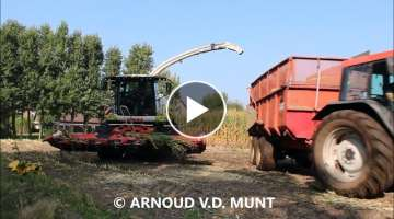 MAIZ HARVESTING IN THE MUD | MAIZ | CLAAS JAGUAR | FENDT | VALMET | DE VALK |