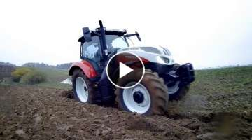 TESTS STEYR 4125 PROFI CLASSIC / WINTER PLOW / AGRO PERFECT