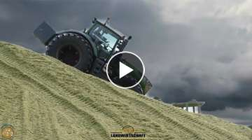 FENDT 1050 VARIO ⚠️ TURBO SOUND ⚠️ Ein 517 PS Traktor Siliert Mais biggest turbo on XXL B...