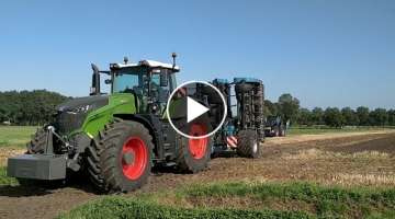 Imants 38FSX speed spader with Fendt 1050 Vario
