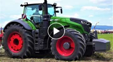 Fendt 1050 / 310 Vario Trecker Demonstration 2017