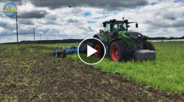 (SOUND) Amazing Fendt 1050 Vario 500HP Lemken Karat 9/700 In Action [Compilation]