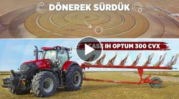 ROTATING DRIVE with Case IH Optum 300 CVX!