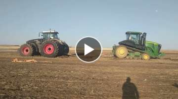 Fendt 1050 vs 560RT John Deere (See Description for details)
