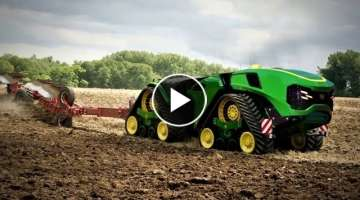 Amazing Modern Agriculture Machines Tractors in Action