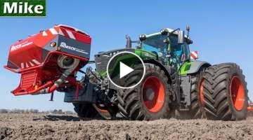 2020 | Twin Wheels on Fendt 1050 | Slurry injection, Cultivating, Seeding Beets | Mencke Landbouw...