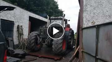 Testing new clutch after rebuild Steyr 8130