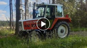 Ride with Steyr 8060 SK2 (Steyr 8060 Turbo Sound)