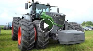 Fendt 1050 Vario Tractor Pulling Compilation | BIG MONSTER TRACTOR DOES Pulling | Danish Agricult...