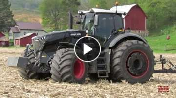 Amazing 500 hp Stealth Fendt 1050 Tractor & McFarlane Reel Disk