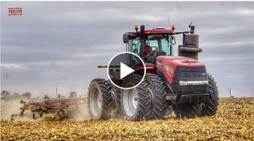 CASE IH STEIGER 370 HD Tractor & Ecolo Tiger 870 Disk Ripper